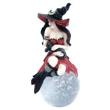 WITCH 'FELICIA' STATUE GOTHIC ORNAMENT MYTHICAL HALLOWEEN