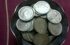 1 RS SILVER BRITISH INDIA G VI FINE CONDITTION 15 PC MIXED DATE 40/41/42/44/45