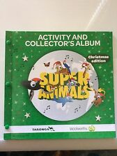 1 FULL SET OF WOOLWORTHS ( 72 SUPER ANIMALS ) COLLECTOR CARDS + ALBUM, NEW.