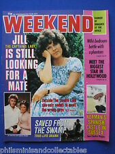 Weekend Magazine - Jill Gascoine, Norman Wisdom, Richard Kiel   14th  Sep 1977