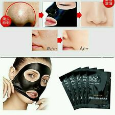 6pcs Pilaten Activated Charcoal pore Cleansing Face Blackhead Remover Mask Peel