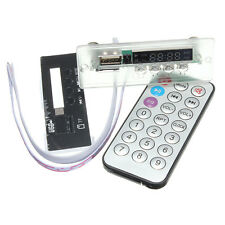5V/12V MP3 Audio Decoder Board Digital LED Remote Control USB TF FM Home Audio