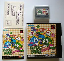 New Region Free Neo Geo Pocket Color Games Puzzle Bobble Mini Bust-a-move Japan