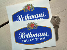 ROTHMANS RALLY TEAM SPONSOR LOGO Porsche 911 Escort BDA
