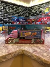 DISNEY PIXAR CARS VINYL TOUPEE HAULER TRAILER #76 VHTF RARE INTERNATIONAL