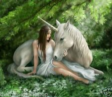 ANNE STOKES PURE HEART UNICORN - 3D CULT FANTASY PICTURE POSTER 400mm x 300mm