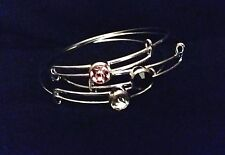 SET of 3 CRYSTAL BRACELETS *ATTRACTION  LOVE  WEALTH* WITCH WICCA Special Offer!