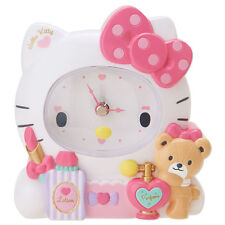 Clock Kitty Hello Decorative Pendulum Sanrio Japan New Wall Pink Brand Kawaii