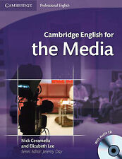 Cambridge English for the Media Student's Book with Audio CD, Lee, Elizabeth, Ce