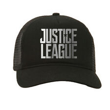 Justice league dc super-héros bd film adulte noir baseball trucker cap casquette