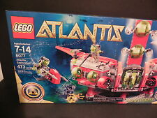 LEGO 8077 ATLANTIS EXPLORATION HEADQUARTERS 473 Pieces NEW in Sealed Box - WOW!