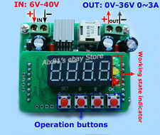 Digital-controlled Constant Current Voltage DC-DC Step-Down LED Driver Module