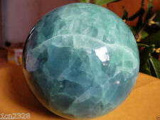 AAA+++ 100MM Glow In The Dark Stone crystal Fluorite sphere ball
