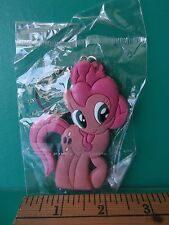 "3""in My Little Pony  Cute Pinky Pie  Double Sided Rubber Key Chain Super Cute"