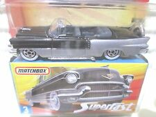 Matchbox 2005 Superfast #3 1956 Silver +Black Cadillac El Dorado Car Mint Boxed
