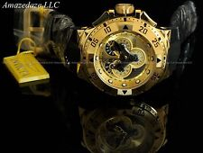 Invicta Reserve Swiss Made Excursion Master Onix Black Chronograph 18K GP Watch