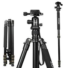 Proffesional Monnopd Ball Head SLR Camera Tripods Carbon Fiber Light Weight 65""