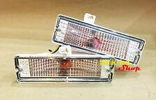 Front Bumper Turn Signal Lights For 86-97 Nissan Frontier D21 BDI 925 993 Pickup
