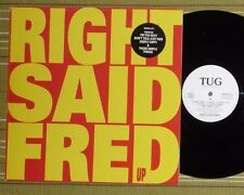 RIGHT SAID FRED, UP, LP 1992 UK 1ST PRESS A-1U/B-1U EX/EX WITH INNER/SL
