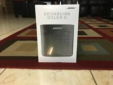 Bose SoundLink Color II Bluetooth Wireless Speaker - Portable 2 - Black - New