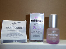 NAIL PROTEIN by  NAILTIQUES Formula 2 Plus for Problem Nails .25 oz, 7ml. New