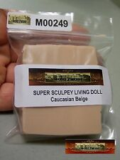 M00249 MOREZMORE Try Living Doll 2 oz Sample BEIGE Polymer Clay A60
