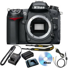 Nikon D7000 Digital SLR Camera Body HD 1080p Black 16.2 MP NEW
