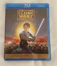 Star Wars: The Clone Wars (Blu-ray Disc) RARE OOP! Free Shipping!