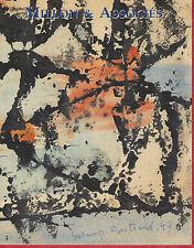 Catalogue vente Art tableau peinture moderne Atelier SOLANGE BERTRAND 2005