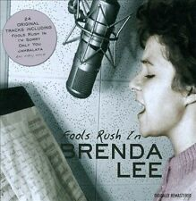 "BRENDA LEE, CD ""FOOLS RUSH IN"" 24 SONGS, NEW SEALED"