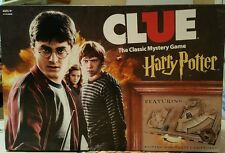 Clue: Harry Potter Classic Mystery Board Game Moving Hogwarts Gameboard Complete