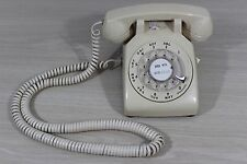 Western Electric Belly System White Rotary Telephone Phone 500 DM 500DM * WORKS