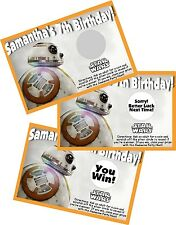 STAR WARS BB8 BB-8 SCRATCH OFF OFFS PARTY GAME GAMES CARDS BIRTHDAY FAVORS