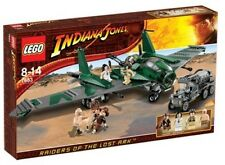 Lego 7683 Indiana Jones Fight on the Flying Wing ** Sealed Box