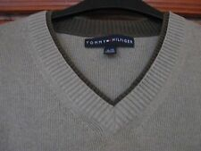 Tommy Hilfiger Men's Beige 100% Cotton Jumper