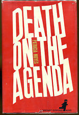 Death on the Agenda by Patricia Moyes-First Edition/DJ-1962