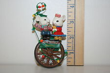 Enesco Ornament - Roundin' Up Christmas Together - Cowboy Mice - Lasso - 1993