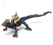 Star Wars Revenge of the Sith BOGA CREATURE BEAST with OBI WAN figure toy
