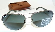 Authentic NEAR-MINT Ray-Ban RB 8313 004/N5 Aviator Polarized Sunglasses, Q5/K
