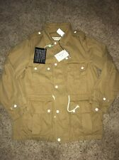 New NWT Maison Kitsune Safari Army Military Khaki Jacket Coat Size Xl Xlarge