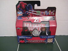 Marvel Minimates Captain Stacy and Vigilante Spider-Man  Exclusive Set