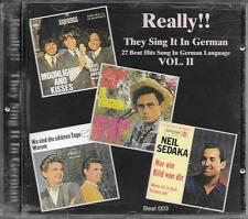"""RARO CD GERMANY BRANI IN TEDESCO """" REALLY !! THEY SING IT IN GERMAN VOL. 2 """""""