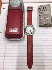 EXTRADOS SILVER IRONY SWATCH WATCH EXCELLENT CONDITIONS 2001 YGS7012
