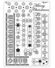 Pergamano Parchment Craft Multi Grid 23 - Christmas Borders, Merry Christmas