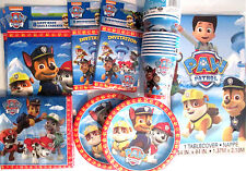 PAW PATROL -Nick Jr. Birthday Party Supply DELUXE Kit w/ Invitations & Loot Bags