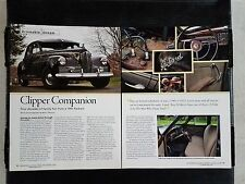 1941 Packard Clipper  - 4 Page Article - Free Shipping