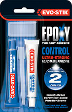 NEW! EVO-STIK EPOXY RESIN CONTROL GLUE - ULTRA STRONG ADJUSTABLE ADHESIVE 30ml