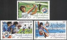 New Caledonia 1987 Golf/Rugby/Athletics/Sports/South Pacific Games 1v (n45339)