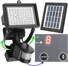 Solar Power 80 LED Flood Night Light Garden Spotlight Waterproof Outdoor Lamp