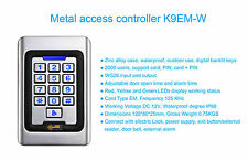 coded keypad RFID, 12v, pte, alarm, 20 Cards, 2000 codes,Paxton,Pac,Hid